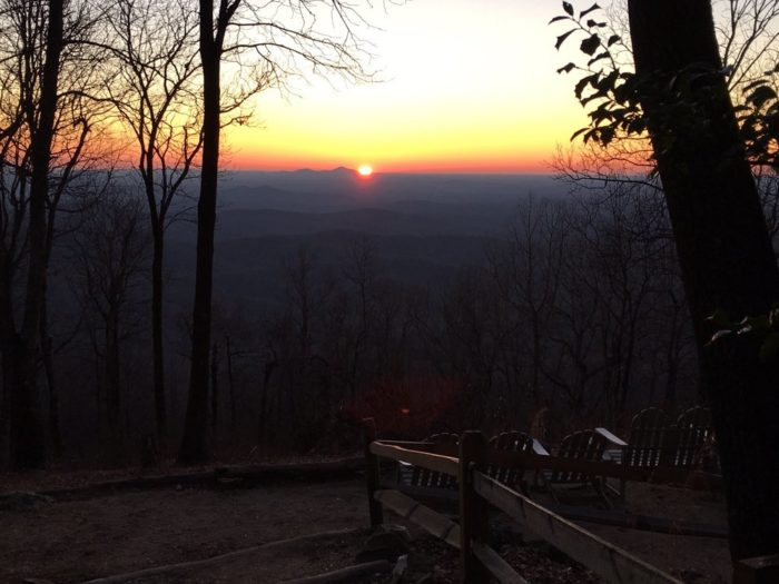 But regardless if you're hiking the Appalachian Trail, or just hiking to the top of the mountain, Springer boasts some seriously surreal sunrise views.