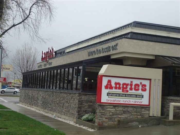 Start with breakfast at Angie's.