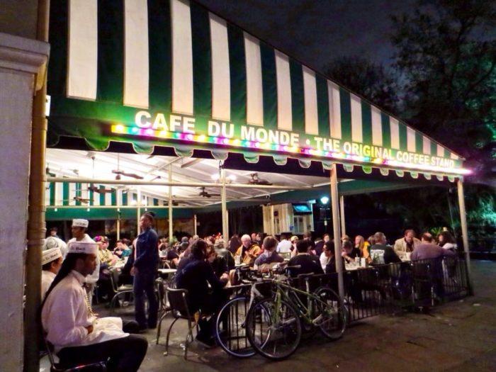 3. Café Du Monde, 800 Decatur St.