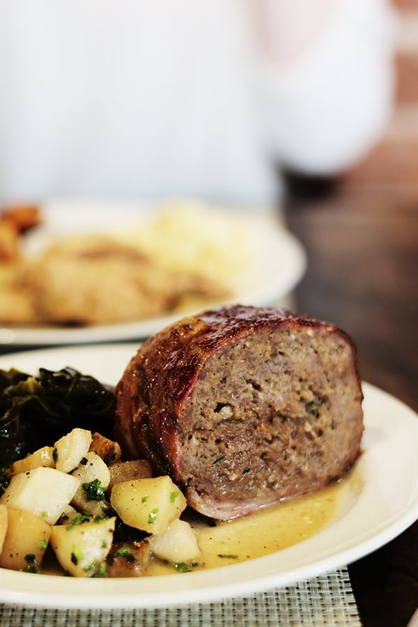 The menu boasts Southern family favorites like meatloaf, fried chicken, and award-winning cornbread just to name a few.