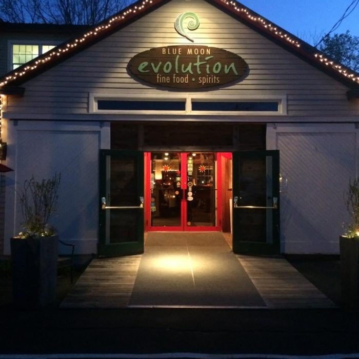 After an afternoon of shopping, head to Blue Moon Evolution for dinner.