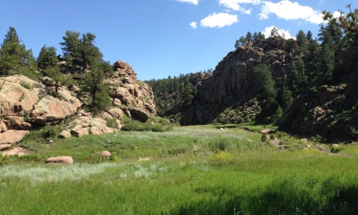 Located just outside of Guffey (about two hours southwest of Denver), the area features a number of stunning landscapes, including lush meadows...