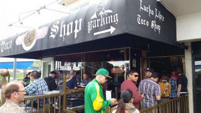 6. Lucha Libre Taco Shop, Two Locations in San Deigo