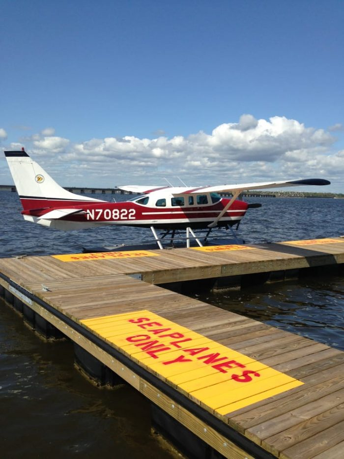 Finally, end your fantastic day at Southern Seaplane.