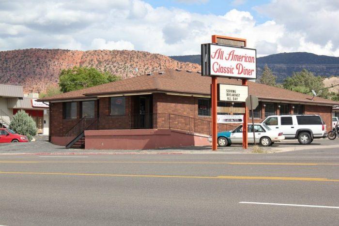 1. All American Diner, Cedar City