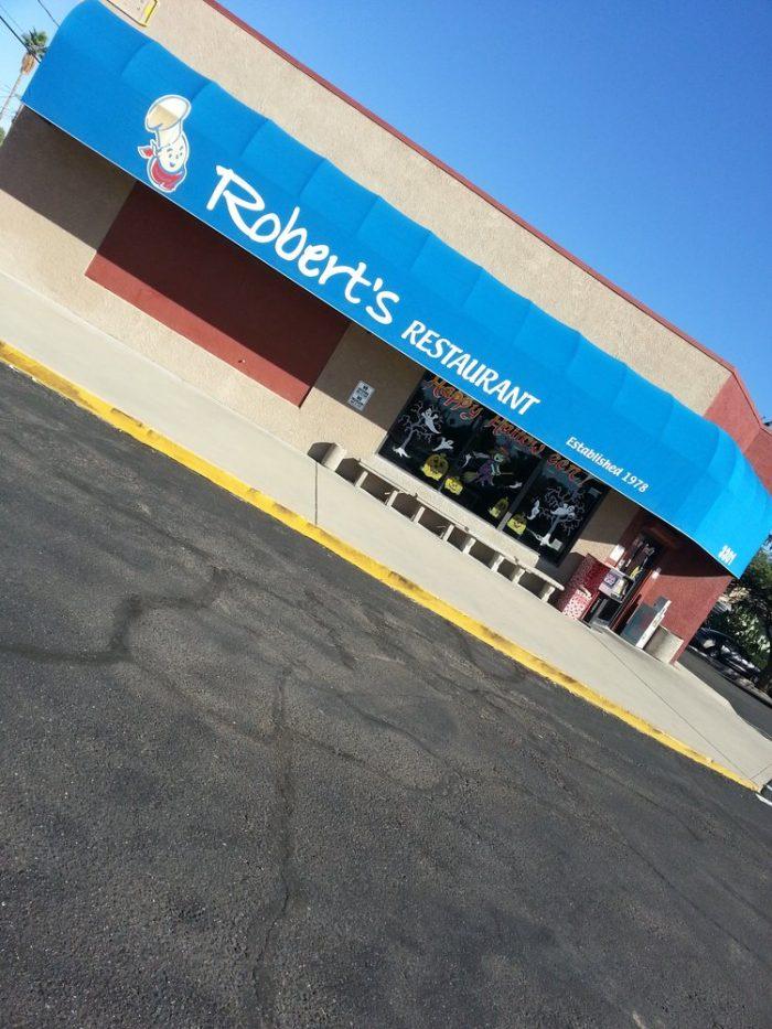 9. Robert's Restaurant, Tucson