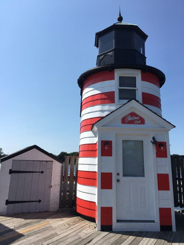 Known for its dedication to American maritime history, this lighthouse structure on the boardwalk is just the beginning! The real star is the Nantucket lightship, which is a floating lighthouse!