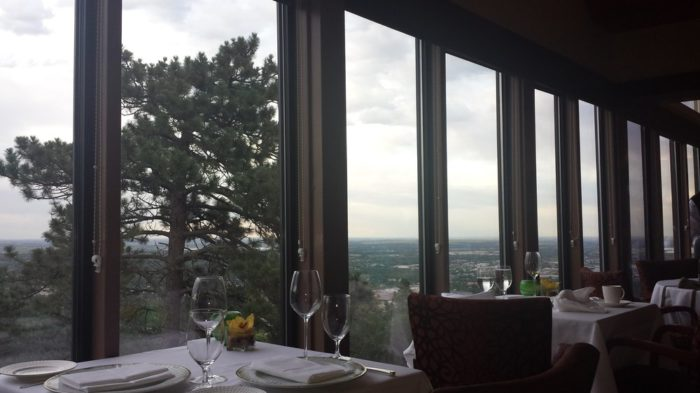 However, the pièce de résistance of this unique restaurant may just be its jaw-dropping views of the city below and surrounding Boulder City Park.