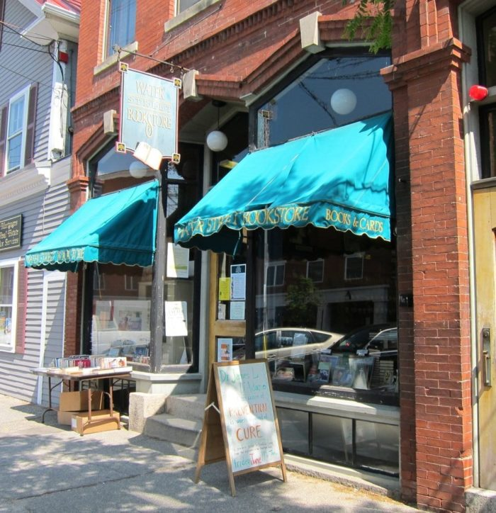 The Water Street Book Store is a local favorite.