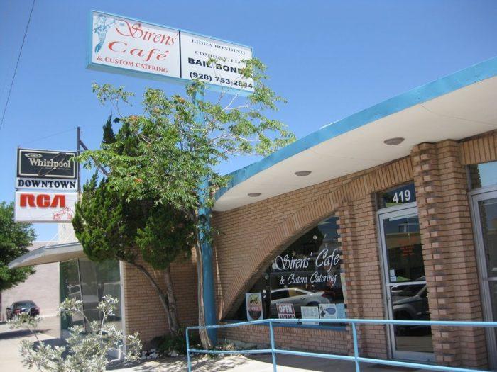 11. Sirens' Cafe & Custom Catering, Kingman