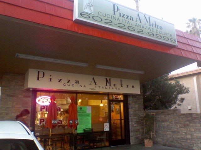 7. Pizza A Metro, Phoenix