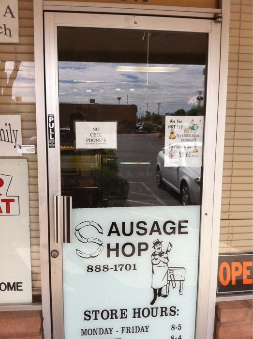 6. Sausage Shop Meat Market and Deli (Tucson)