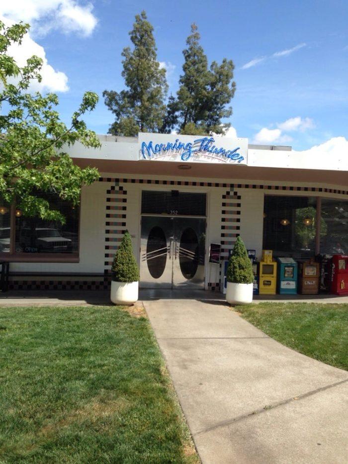 6. Morning Thunder Cafe, Chico