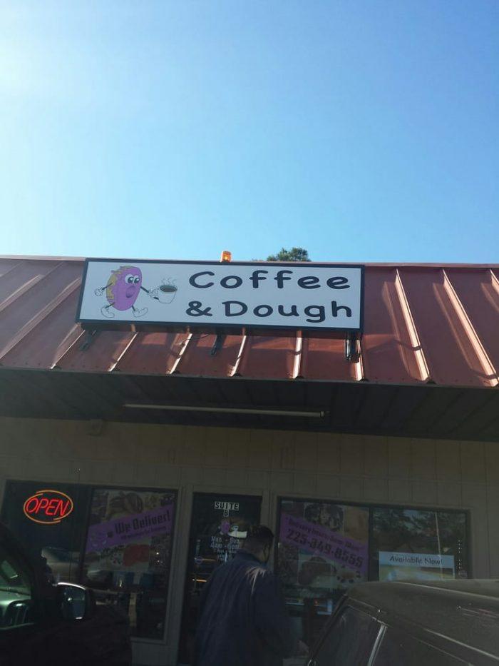 5. Coffee & Dough, 12240 Coursey Blvd., Baton Rouge