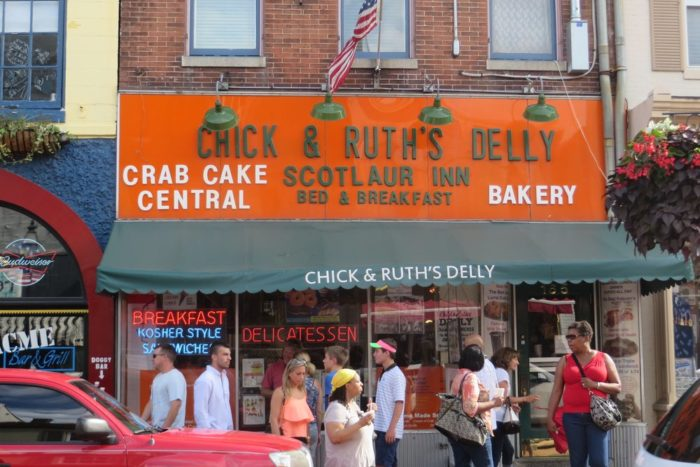 Chick & Ruth's Delly has been around since 1965. This mom & pop eatery on Main Street has only improved through the decades, satisfying locals and tourists alike.