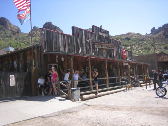 8. Tortilla Flat Superstition Saloon (Tortilla Flat)