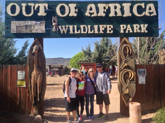 Out of Africa Wildlife Park is an adventure waiting to happen. Located 1.5 hours from Phoenix in Camp Verde, the park brings you in contact with exotic wildlife while also acting as a sanctuary for exotic animals.