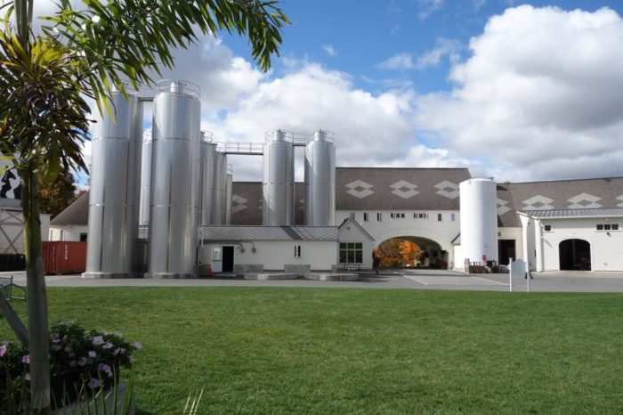 Feeling thirsty and can't wait until dinner? Then take a tour at the incredible Brewery Ommegang!