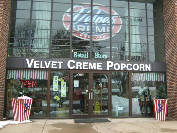 "Located at 4710 Belinder Rd. in Westwood and named a ""Best Kansas City Product,"" Velvet Creme Popcorn is about as tasty as its name suggests and sells a wide variety of homemade popcorns including..."