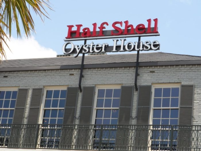 5. Half Shell Oyster House, Four Locations