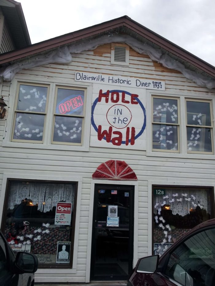 4. Hole in the Wall— 90 Town Sqare, Blairsville, GA 30516