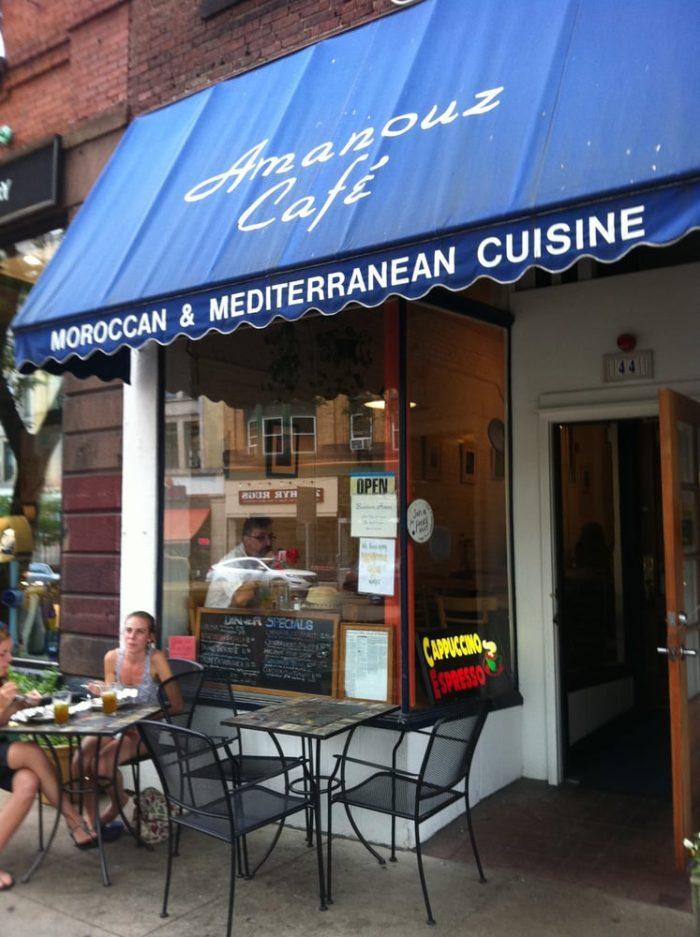 5. Amanouz Cafe, Northampton
