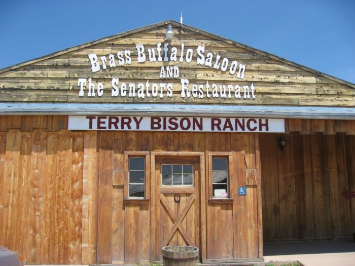 The Senator's Steakhouse at the Terry Bison Ranch Resort is located just outside of Cheyenne.
