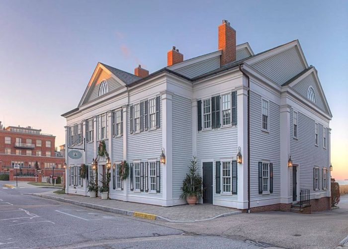 Thinking of spending the night? Book a room! The Inn at Stonington features 18 charming rooms overlooking Fishers Island Sound. Classic colonial decor and gas fireplaces make this place a relaxing oasis. Plus it's walking distance from the shops and galleries.