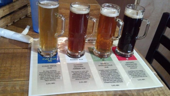 Come hungry (and thirsty). The beer selection can't be beat. If you're having trouble deciding which brew to try, simply order the sampler.