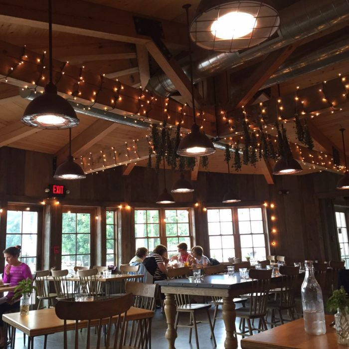 However, not many people know that the farm is home to Farm Bistro, a great restaurant that offers farm to table treats for takeout during the day and a full dinner menu at night.