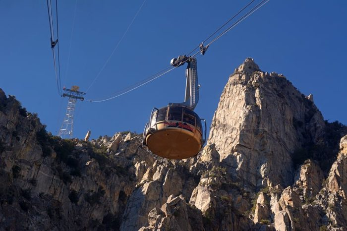 Palm Springs Aerial Tramway Gives The Best Scenic Views Of
