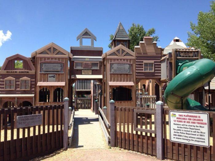 Image result for wild wild west playground utah