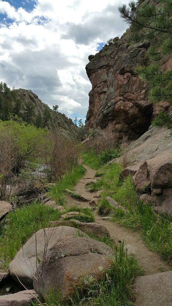 ...winding dirt paths...