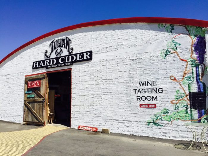 After lunch it might be fun to do some cider sampling at Julian Hard Cider: 447 Julian Road