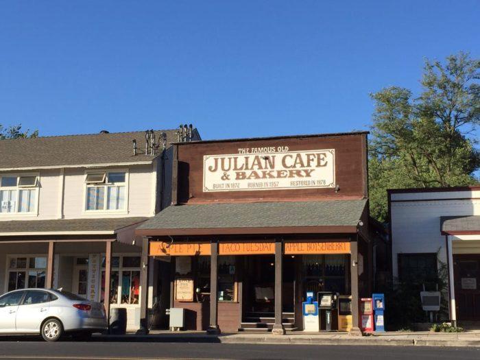Julian Cafe: 2112 Main Street