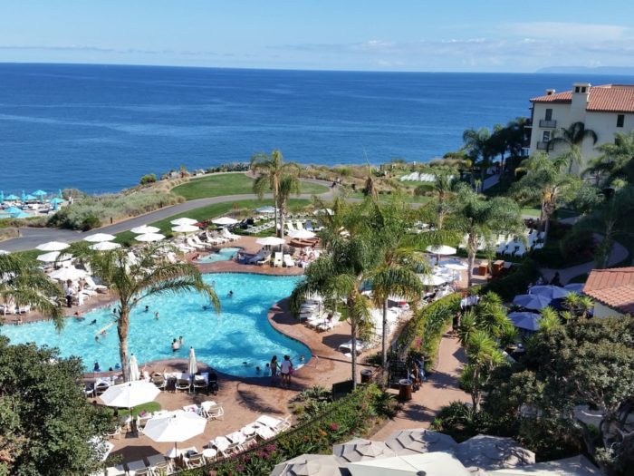 You can spend your time at Terranea at one of the resort's many pools.