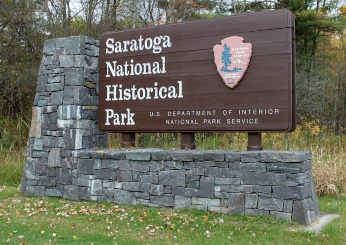 Right where one of America's most important victories took place, the rolling hills of the Saratoga Battlefield will send chills down your spine.