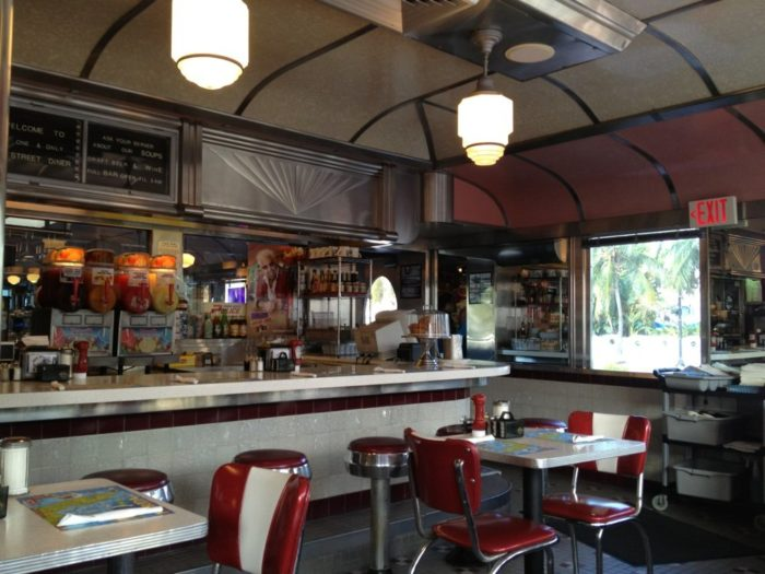 Today, this Art Deco diner is like a living time capsule, serving all kinds of classic American favorites (and a few of its own specialties).