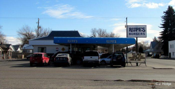 6. Rupe's Burgers, Blackfoot