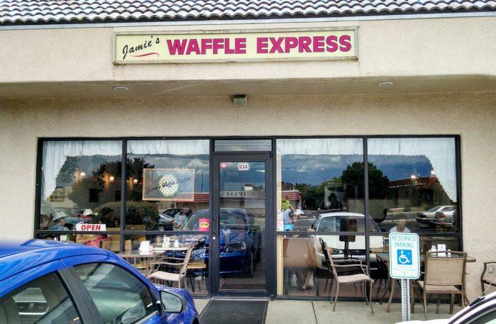 6. Jamie's Waffle Express, Prescott Valley