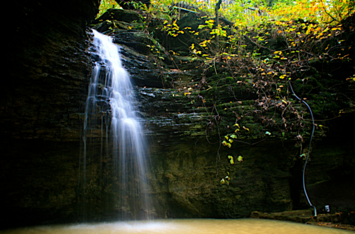 Heavener Runestone Park is a 55-acre, day-use park located in Le Flore County.