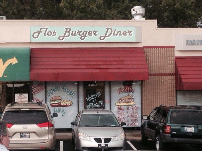 6. Flos Burger Diner, Catoosa