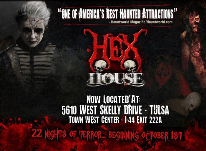 The Hex House is open for 22 nights of terror beginning October 1, 2016. See below for more details.