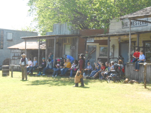 Or enjoy a gunfight. Every third Saturday of the month, the town puts on a professional gunfight for visitors to enjoy a showdown. (The next gunfight will start back up in Spring 2017.)
