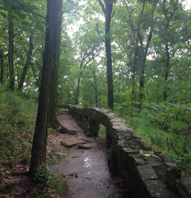 The park also features nature trails and paved walkways leading to the waterfalls and other mysterious places.