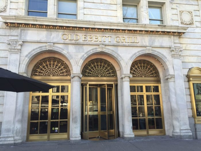 10. Old Ebbitt Grill - 675 15th St NW