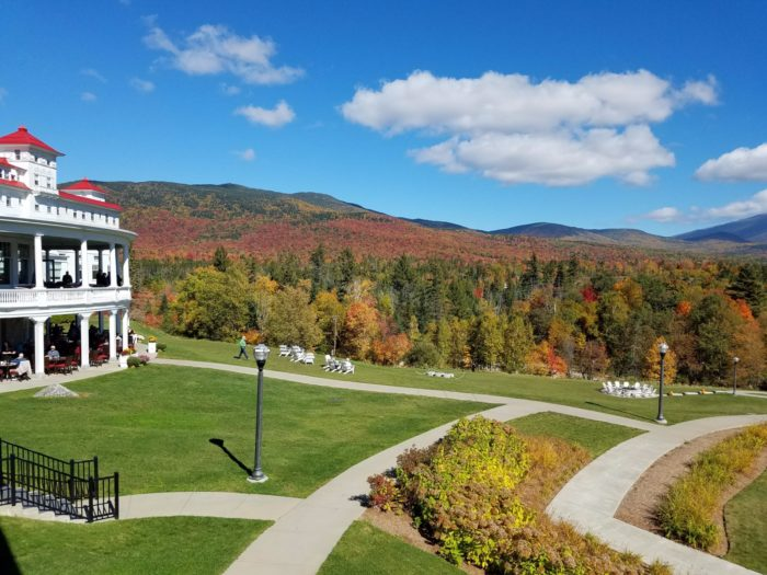 Nestled into the slopes of Mount Washington, the resort has unmatched views of the White Mountain National Forest.