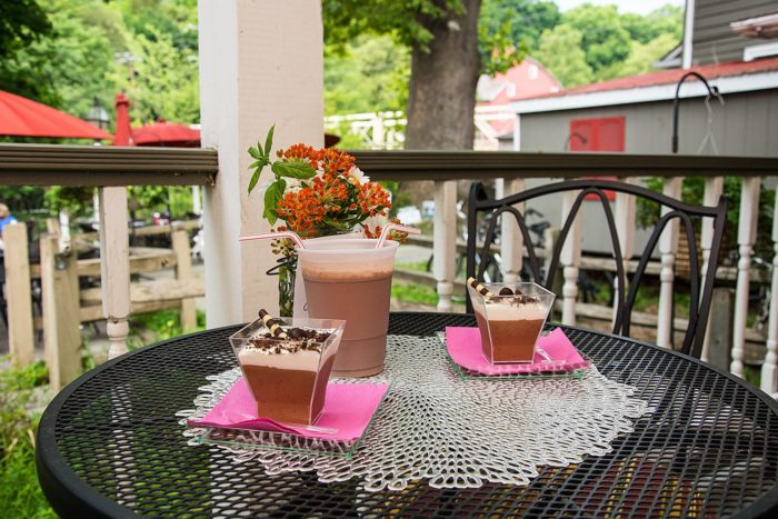 Try each and every flavor on the patio overlooking the Raritan River and historic Red Mill.