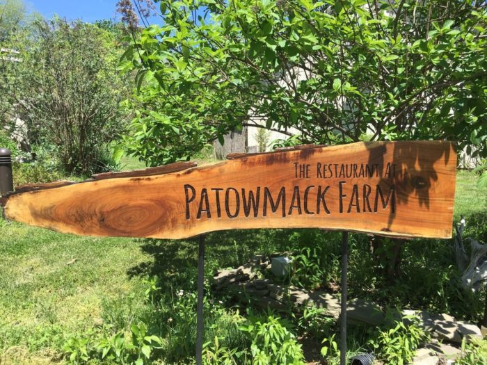 Patowmack Farm was established in 1986 and the restaurant was one of the first farm restaurants in the country.