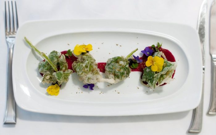 Each course is innovative and artfully prepared and you have an option of enjoying a wine pairing with your dinner.